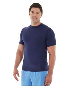 Logan  HeatTec® Tee-XS-Blue