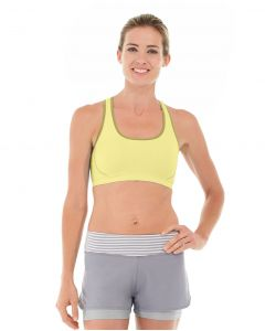 Erica Evercool Sports Bra-L-Yellow