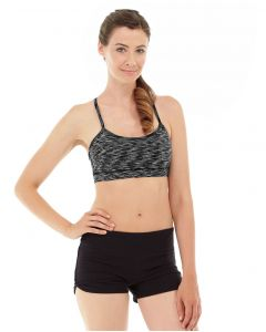 Lucia Cross-Fit Bra -S-Black