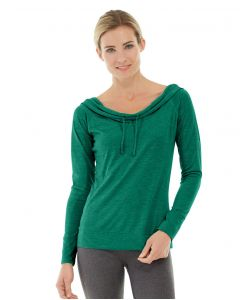 Mona Pullover Hoodlie-M-Green