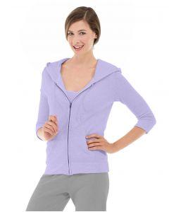 Selene Yoga Hoodie-L-Purple