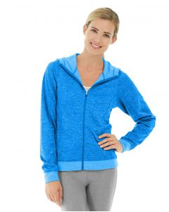 Helena Hooded Fleece-M-Blue
