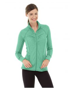 Riona Full Zip Jacket-M-Green