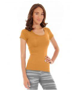 Desiree Fitness Tee-L-Orange