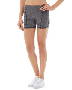 Gwen Drawstring Bike Short-31-Gray